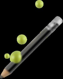 GB10 Green paint pencil